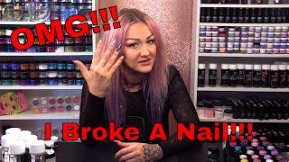 Video OMG!!! I Broke A Nail!!!!! 😱😱 download MP3, 3GP, MP4, WEBM, AVI, FLV Juli 2018