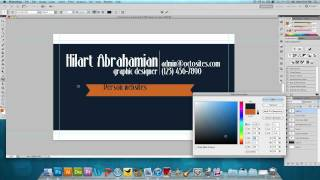 Photoshop Tutorial: How to Design a Business Card