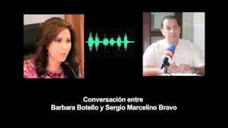 Conversación entre Barbara Botello y Sergio Marcelino Bravo