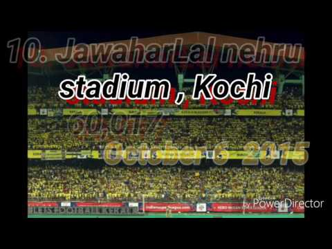 Top 10 attendence in Hero  Indian super league