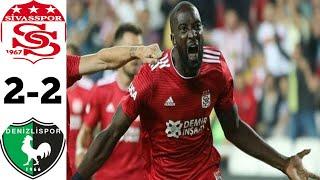 Sivasspor vs Denizlispor 2 2 Super Log Turkey 2021