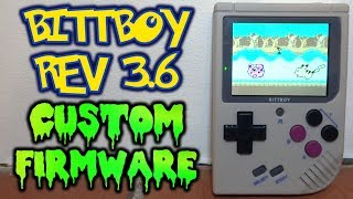 BittBoy Rev 3.6 Custom Firmware!