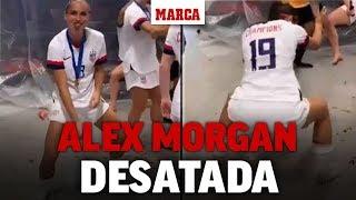 El twerking viral de Alex Morgan tras ganar el Mundial I MARCA