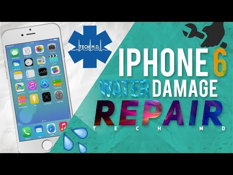 iPhone 6 Water Damage Repair Tech MD 6-20-2015