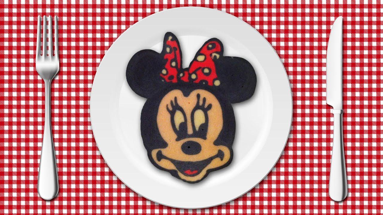 Pancake Art , Minnie Mouse (パンケーキアート \u2022 ミニーマウス)