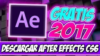 Descargar e Instalar Adobe After Effect Cs6 2017Full Español 64Bits (Facil)