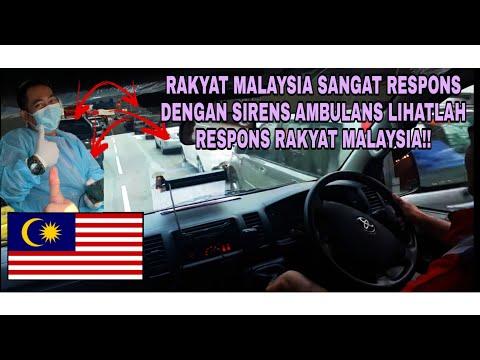 TAHNIAH PEMANDU MALAYSIA 98% SEMUA AMAT PRIHATIN DENGAN SIREN AMBULANS..