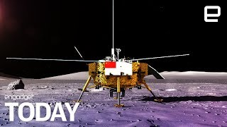 Chinese spacecraft makes historic
