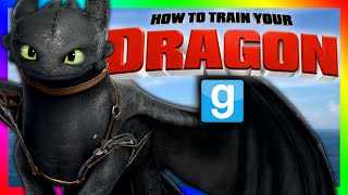TOOTHLESS HIDE AND SEEK!?!? | Gmod Sandbox Minigame (HOW TO TRAIN YOUR DRAGON)