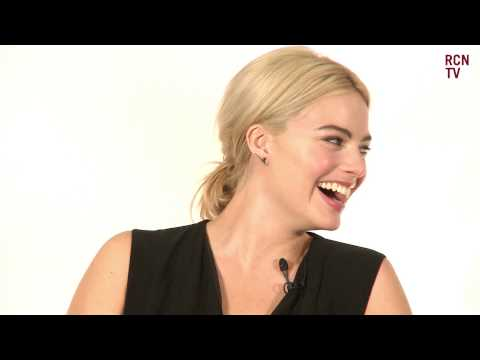 Margot Robbie Interview -  Leonardo DiCaprio vs Will Smith