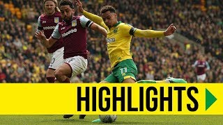 HIGHLIGHTS: Norwich City v Aston Villa