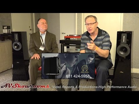 Alta Audio, Gold Show Winner, Michael Levy and Peter B, great listening session! Capital Audiofest 2