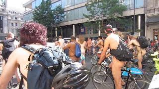 Repeat youtube video WNBR World Naked Bike Ride London 2013
