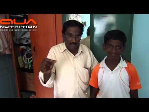 Testimonial: A young Tennis player`s father explains his son grew taller