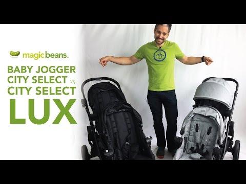 Baby Jogger City Select Vs City Select Lux 2017 Comparison