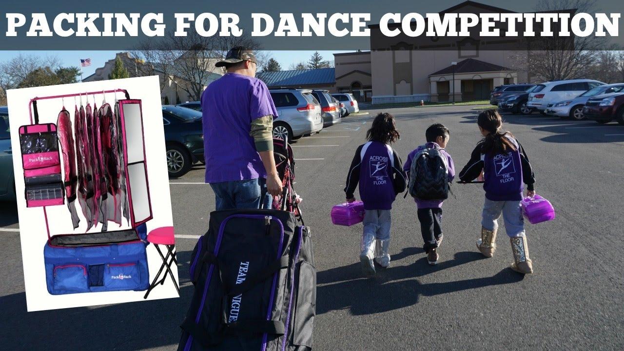 Organize Our Dance Compeion Bag