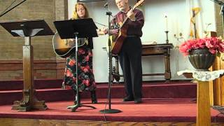 Janet Snell and Ron Dupuy 2-20-11 at First Congregational Church, Stuart Iowa