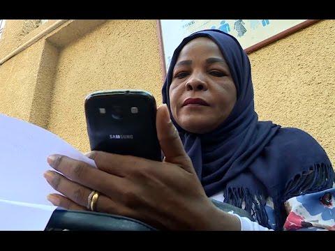 Sumaya: Sudanese refugee desperate to reach husband