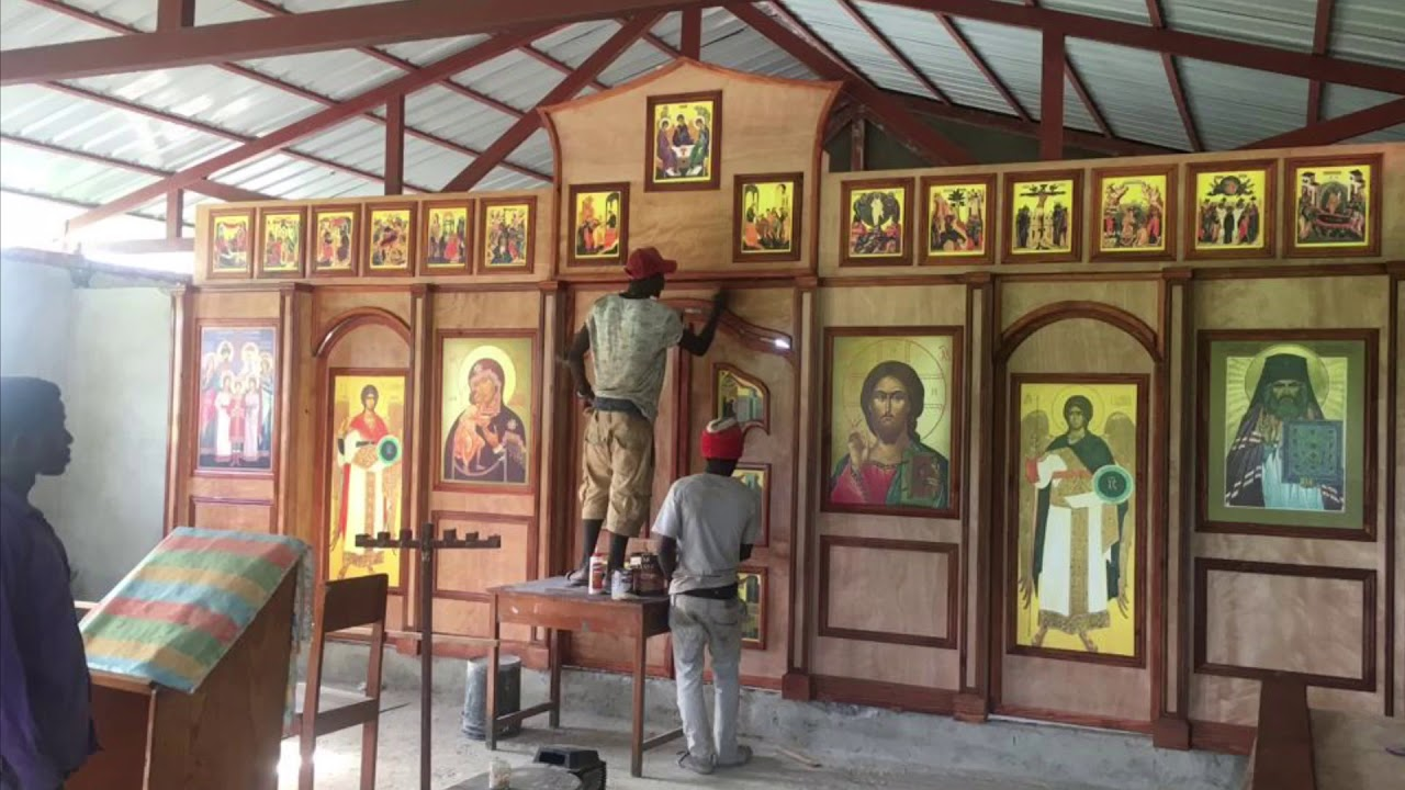 Строительство православного храма на Гаити