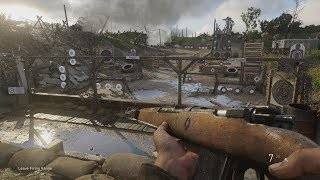 The Call Of Duty WWII Firing Range
