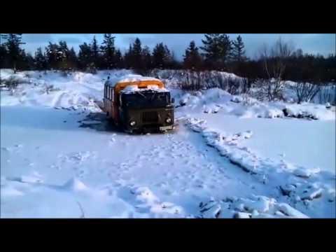Охота и рыбалка Неудачные покатушки ГАЗ-66