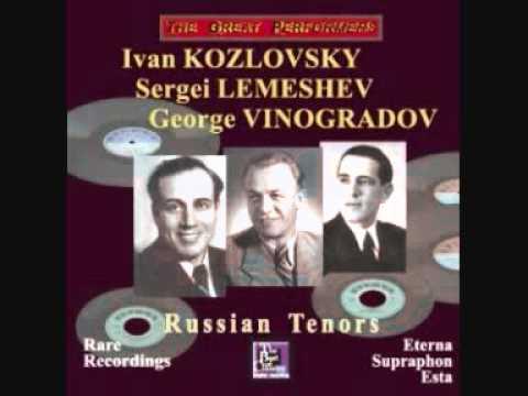 Sergei Lemeshev - Жаворонок 1947 Live (concert in Berlin!!!)