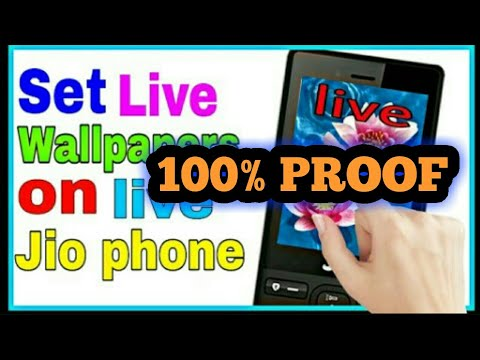 How To Download Live Wallpaper In Jio Phone