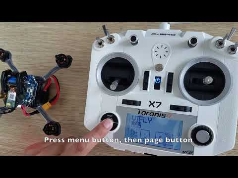 How to Bind Frsky Remote Controller - VIFLY X150