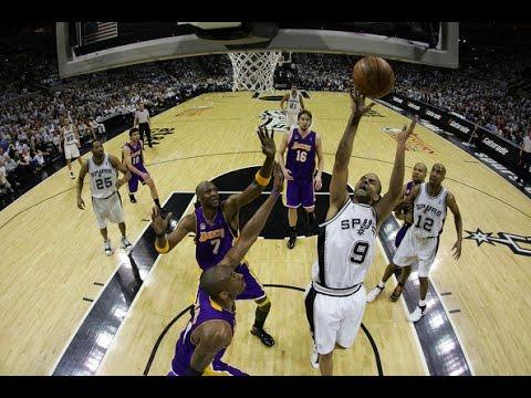 2008 NBA WC Finals Game 3. San Antonio Spurs vs Los Angeles Lakers