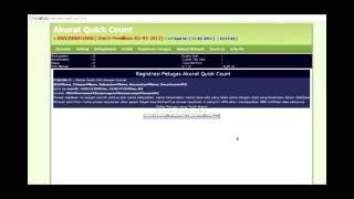 Software SMS Real Quick Count Pilkada (Instal s/d mengoperasikan)