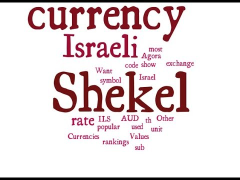 Israeli Currency - Shekel
