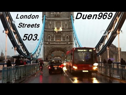 London Streets (503.) - London Bridge - Tower Bridge - Hackney