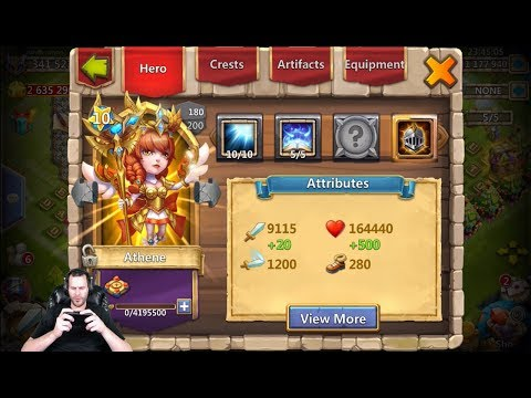 JT's Main Athene Double Evolved Augmented Absolute Beast Castle Clash