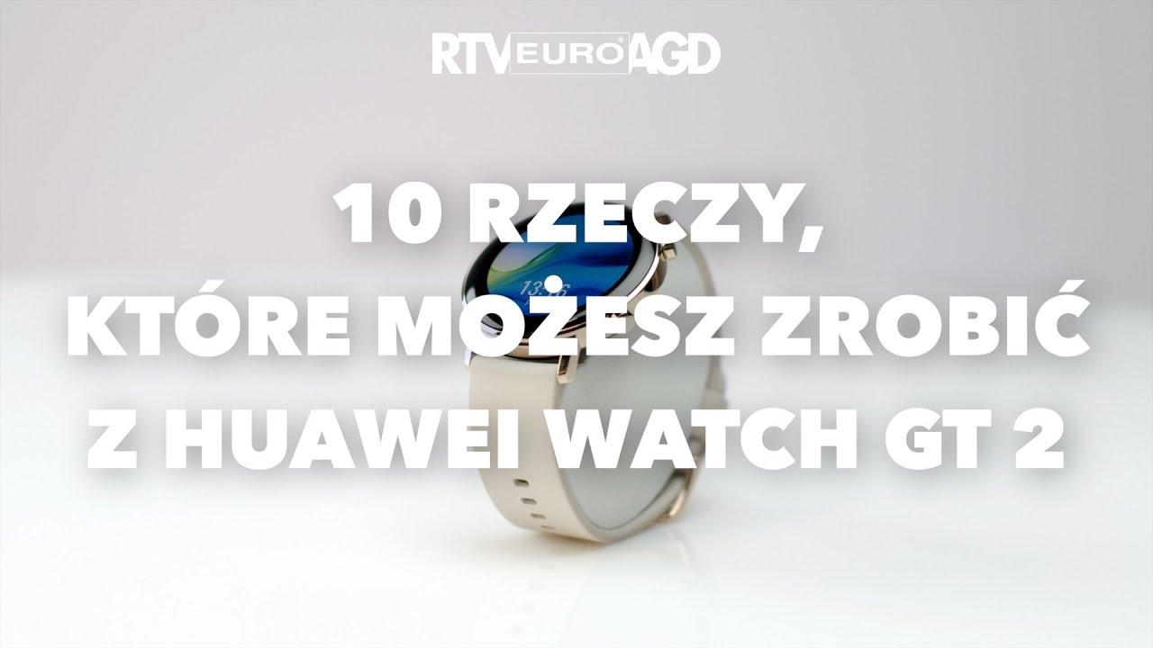 Huawei Watch GT 2 - dane techniczne - RTV EURO AGD