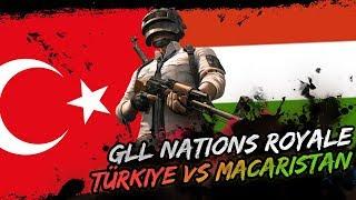 TÜRKİYE VS MACARİSTAN PUBG MAÇI! [1. MAÇ]