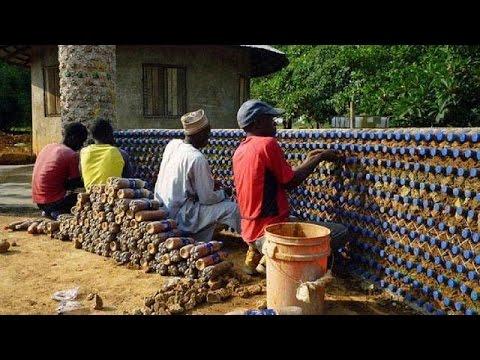 Nigeria : des bouteilles en plastique pour des logements abordables