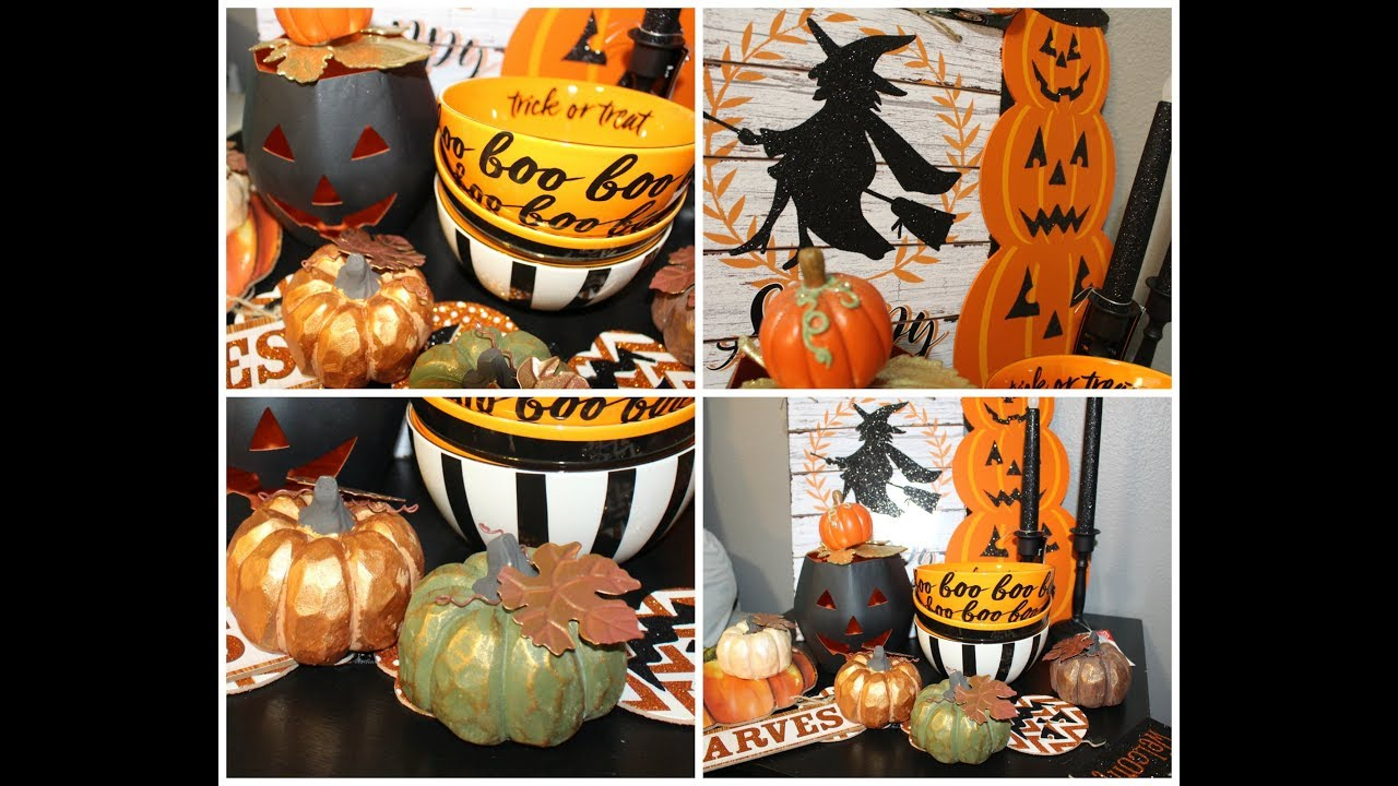 halloweenfall haul 2017 target dollar tree more - Target Halloween Tree
