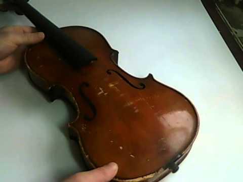 Antiques Violin Antonius Stradivarius Cremonenfis Faciebat Anno 17