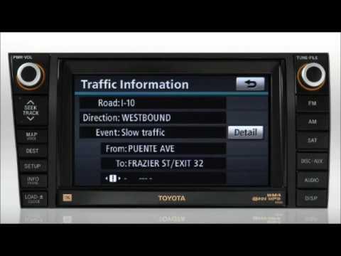 Navigation (XM Nav Traffic) Sequoia/Tundra Toyota of Slidell