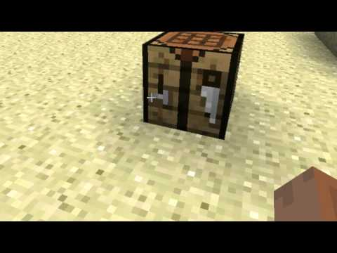 Minecraft Tutorial How To Make Wooden Xe