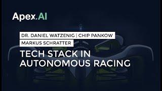 Tech Stack in Autonomous Racing