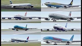 TOP 10 Smooth Landings in Infinite Flight Simulator Games