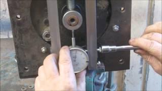 outil à redresser les axes de tondeuses