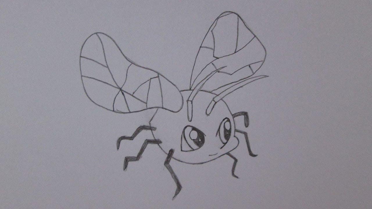 Cmo dibujar una mosca  YouTube