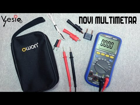 OWON B35T moj nov instrument sa Bluetoothom