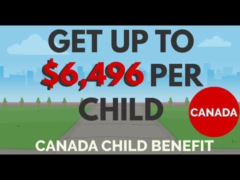 Canada Child Benefit Amount 2019