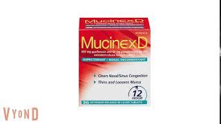 Mucinex D facts
