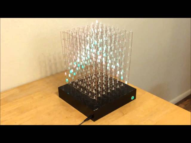 Rgb 8x8x8 Led Cube 9 Steps With Pictures