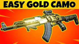 How to Get EASY GOLD CAMO Assault Rifles: Modern Warfare Tips & Tricks
