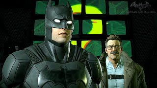 "Batman: The Telltale Series ""The Enemy Within"" Gameplay"